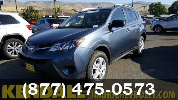 2014 Toyota RAV4 BLUE For Sale *GREAT PRICE!*