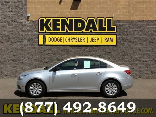 2011 Chevrolet Cruze Silver Ice Metallic Great Deal**AVAILABLE**