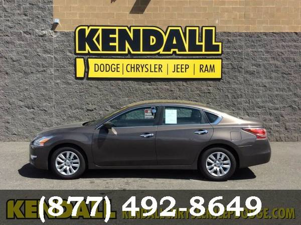 2014 Nissan Altima MED BROWN GO FOR A TEST DRIVE!