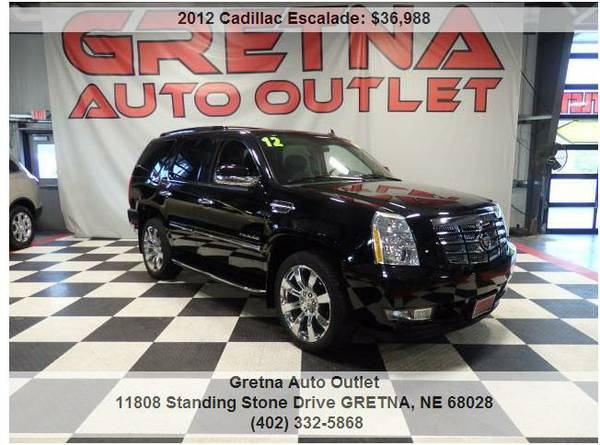 2012 Cadillac Escalade*LUXURY AWD ONLY 72K NAV ROOF DUAL DVD POWER ALL