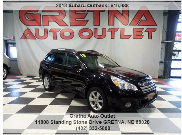 2013 Subaru Outback**2.5i PREMIUM AWD ONLY 77K 1 OWNER MILES