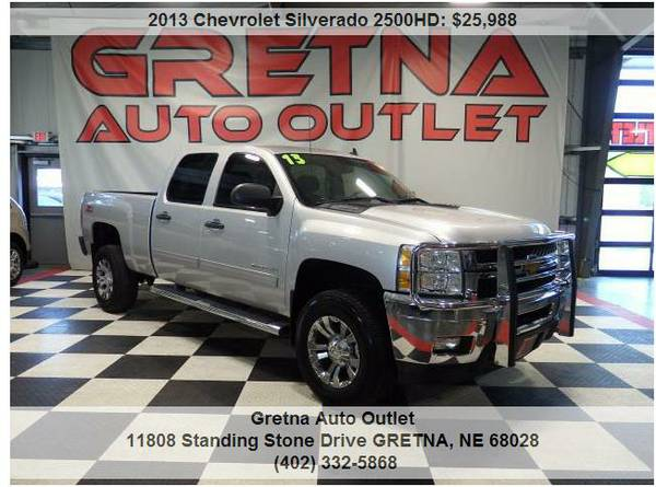 2013 Chevrolet Silverado*2500HD LT CREW 4X4 118K LUVERNE GRILL GUARD!!