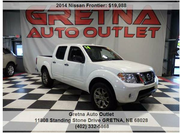 2014 Nissan Frontier**SV CREW CAB 4X4 LOW MILES ONLY 78K LIKE NEW*CALL