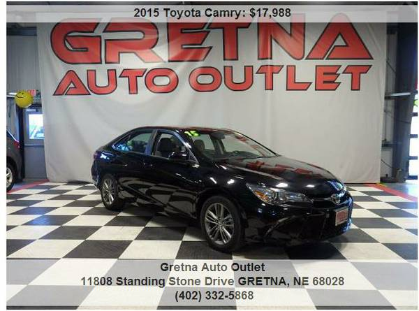 2015 Toyota Camry*SE 1 OWNER ONLY 22,000 MILES BLUETOOTH LOADED**CALL