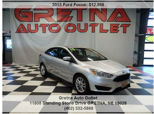 2015 Ford Focus**BACK UP CAMERA 1 OWNER LOADED UP ONLY 39K FLEX FUEL