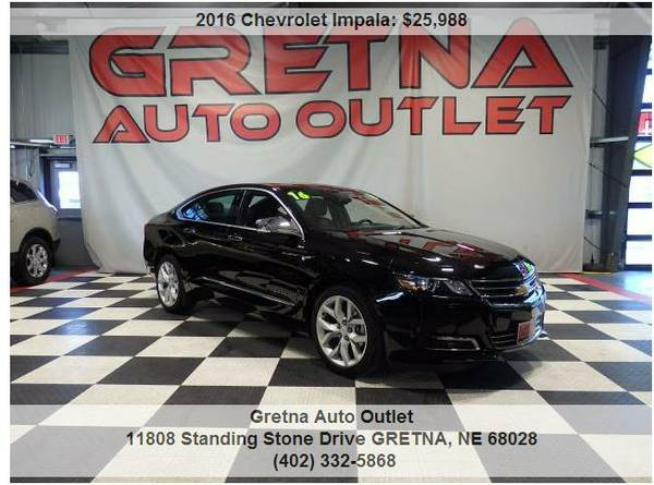 2016 Chevrolet Impala*LTZ ONLY 21,000 MILES LEATHER LOADED BACK UP CAM
