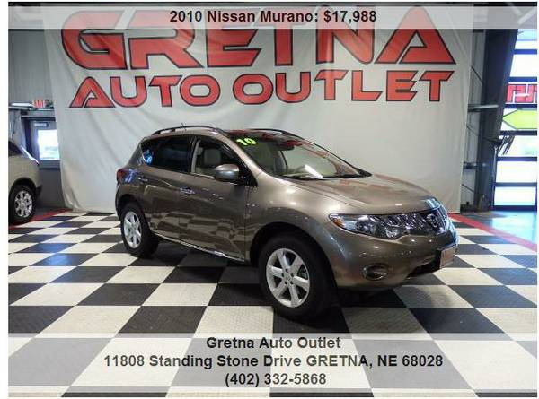 2010 Nissan Murano*SL AWD ONLY 66,000 MILES 1 OWNER NAV BOSE ROOF!!**