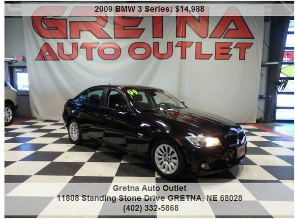 2009 BMW 328xi*AWD ONLY 64,000 MILES HEATED LEATHER V6 MOONROOF*CALL!