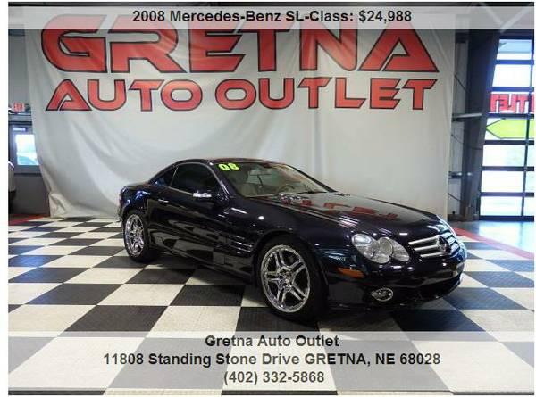 2008 Mercedes-Benz*SL550 V8 COUPE 70K NAV DUAL ROOF LOADED UP**CALL US