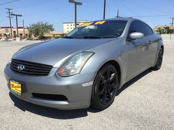 2004 Infiniti G35 Base *LEATHER*MOONROOF*MUST SEE!!