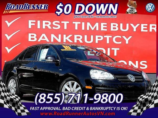 2010 Volkswagen Jetta Wolfsburg $9,995 or $168 per month $168 /mo