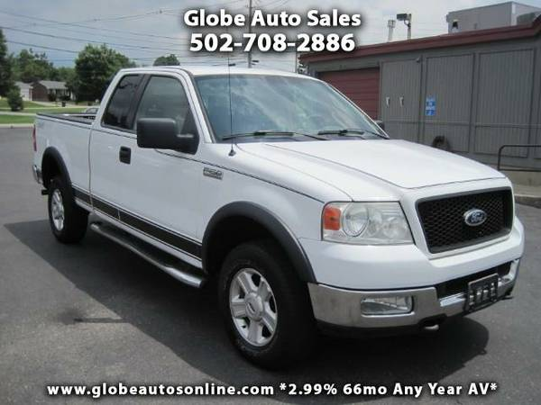 *LOW MILES* 2004 Ford F-150 XLT SuperCab 4X4 -2.99% 66MO AV