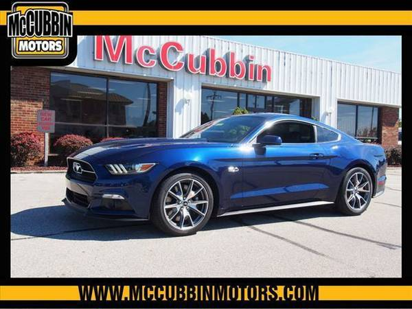 2015 *Ford Mustang* 50th Anniversary (Dk. Blue)