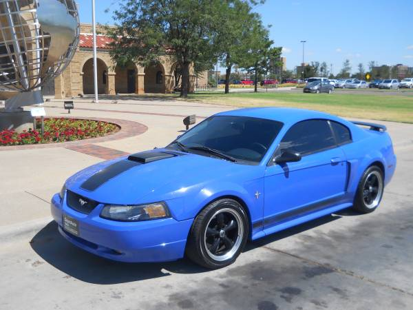 >>> 2003 FORD MUSTANG MACH 1 *** OWN THIS RARE AND FAST CAR...