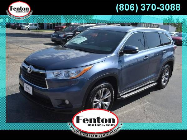 2014 Toyota Highlander XLE We Have the Best Deals!