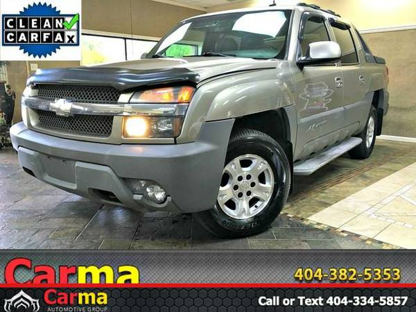 2002 Chevrolet Avalanche - *GET TOP $$$ FOR YOUR TRADE*