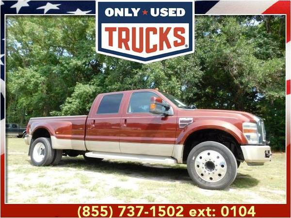 2008 *Ford F450* *F-450*F 450* King Ranch Super Duty (8cyl, 6.4L,...