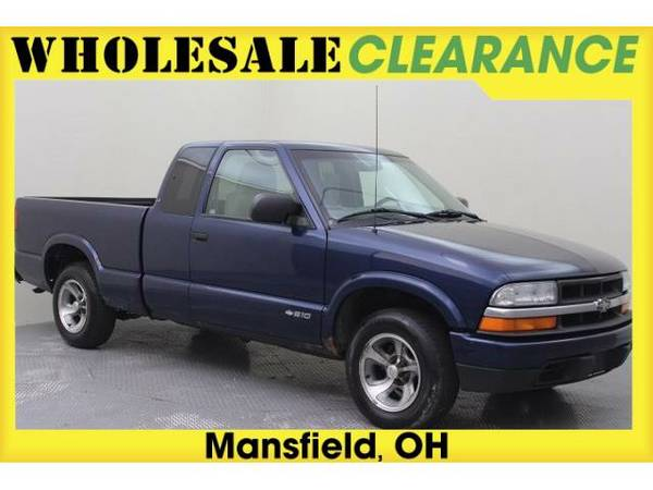 2002 *Chevrolet S-10* - 14726MAX - (Blue)