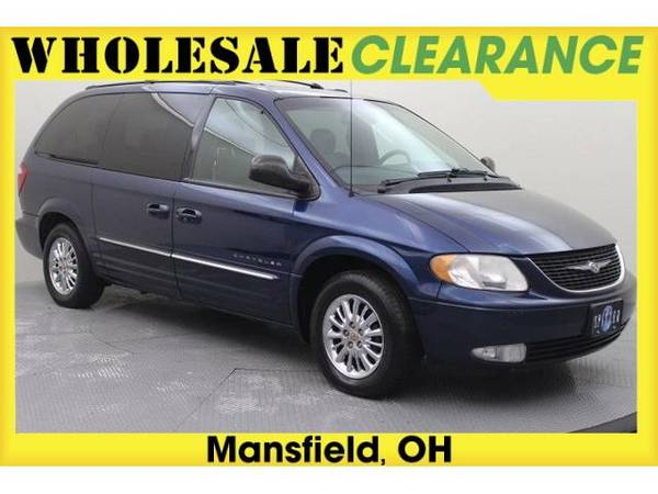 2001 *Chrysler Town & Country* Limited - 14501MAX - (Patriot Blue...