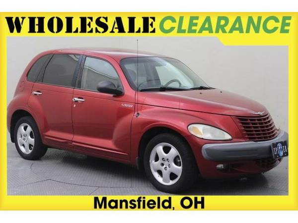 2001 *Chrysler PT Cruiser* - 14533MAX - (Inferno Red Tinted Pearlcoat)