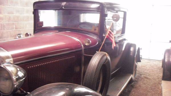 1931 Chrysler CM-6 Rumble Seat Coupe