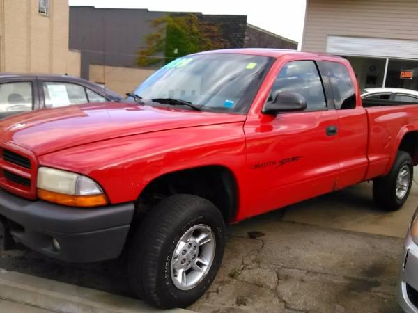 1998 Dodge Dakota Sport Ext. Cab 4x4 *149k *Just In * Runs New