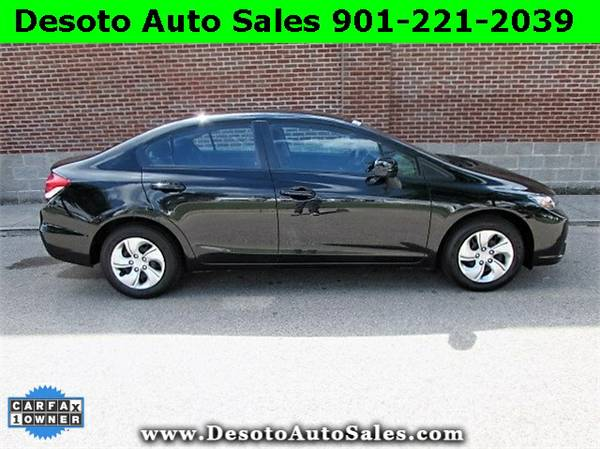 2014 Honda Civic Black *WHAT A DEAL!!*