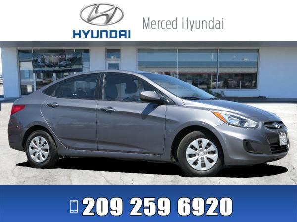*2015* *Hyundai Accent* ** *Gray*