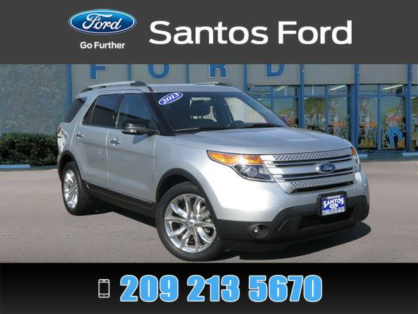 2013 Ford Explorer Silver