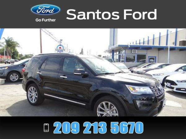 2016 Ford Explorer Black