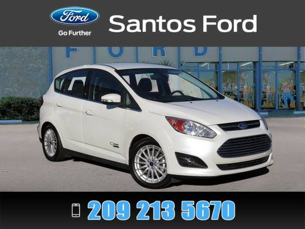 2015 Ford C-Max CMax White