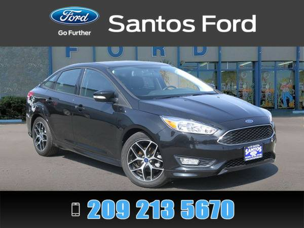 2015 Ford Focus Black