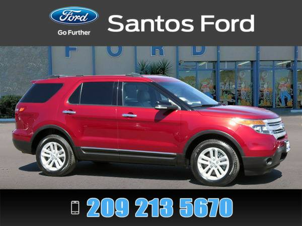 2015 Ford Explorer Red