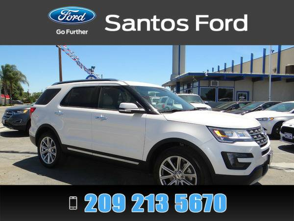 2016 Ford Explorer White