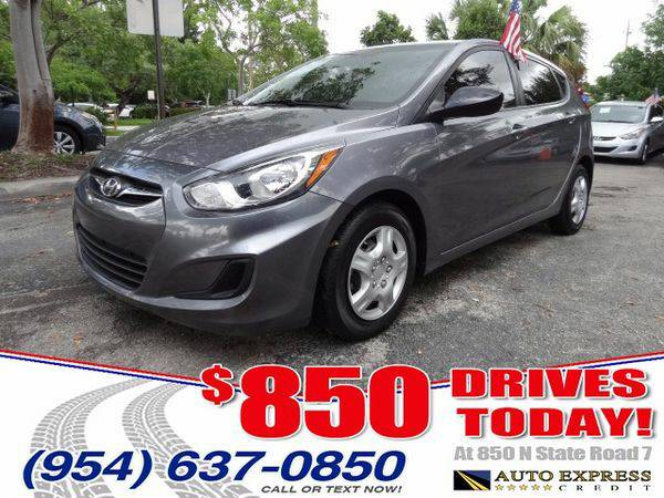 2014 *Hyundai* *Accent* GS 5-Door - $850 DRIVES AT 850 N STATE ROAD 7
