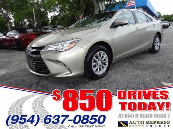2015 *Toyota* *Camry* SE - $850 DRIVES AT 850 N STATE ROAD 7
