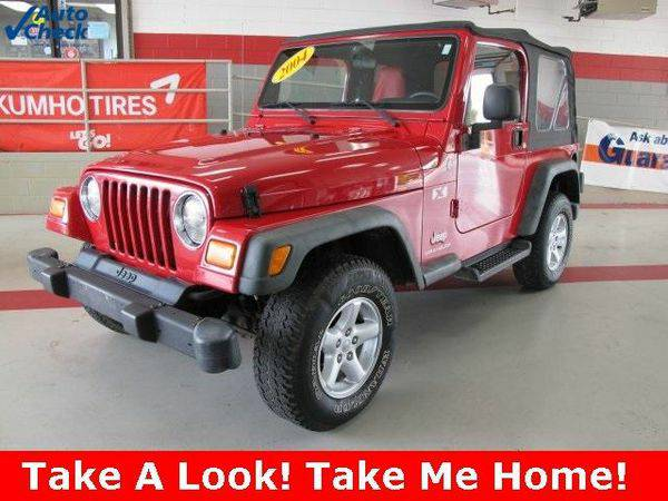 2004 *Jeep* *Wrangler* X Leroy Butler Lifetime Powertrain