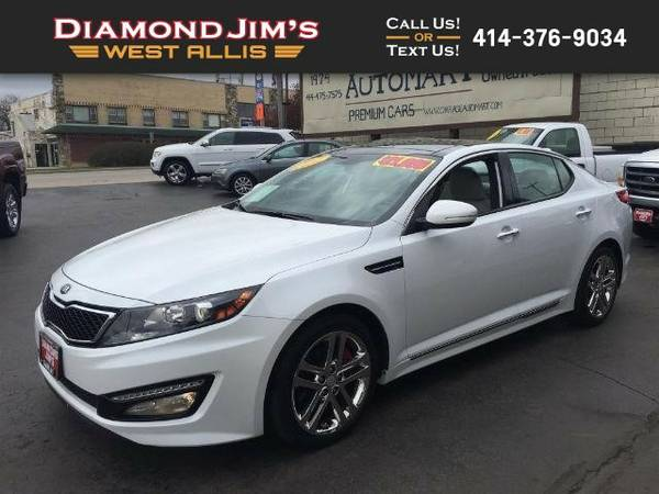 2013 Kia Optima SXL 4dr Sedan
