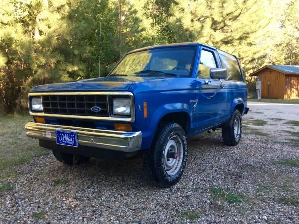 1986 Ford Bronco 2 V6