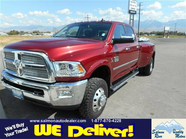 2014 Ram Stock 32814 3500 Crew Cab Pickup Longhorn Limited