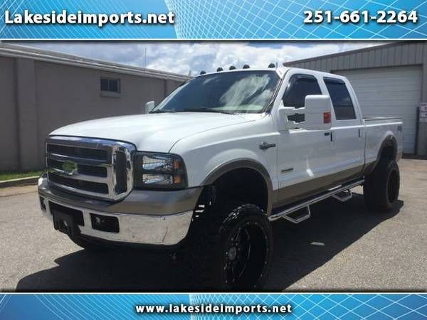 2005 Ford F-250 SD King Ranch Crew Cab 4WD Lifted Deleted Modified