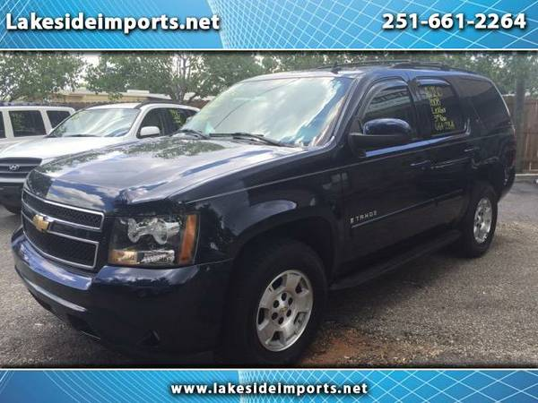 2007 Chevrolet Tahoe LT 4WD Blue with Tan Leather
