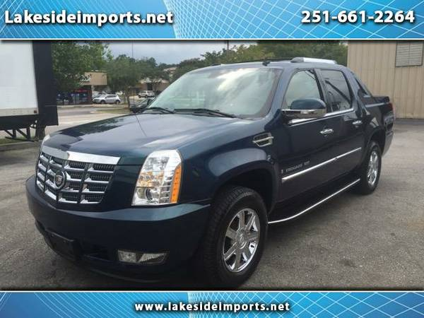 2007 Cadillac Escalade EXT Sport Utility Truck Blue Loaded 83K Miles