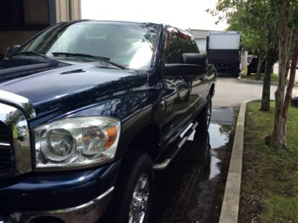 2007 Dodge Ram 2500 SLT Mega Cab 4WD Dark Blue Alloy Wheels