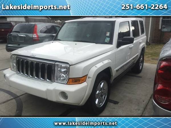 2006 Jeep Commander Limited 2WD Hemi White Tan Leather