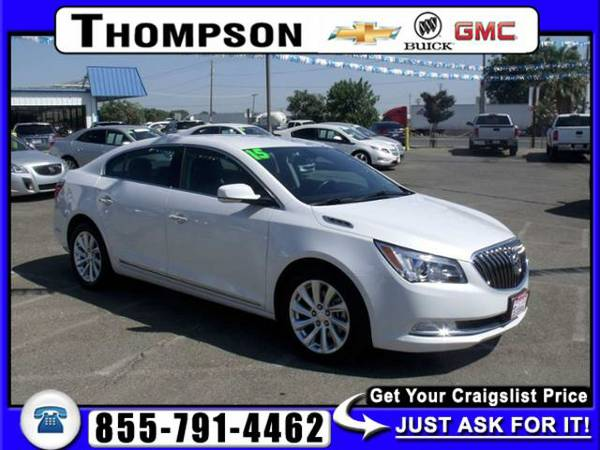 2015 Buick LaCrosse Leather 4D