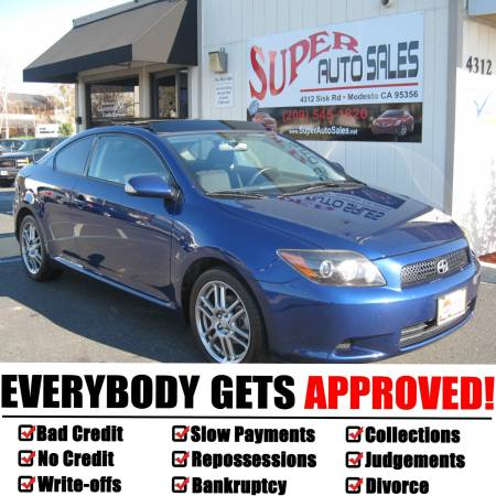 *$995 Down Gets You This 2009 Scion tC 2dr Hatchback 5spd...