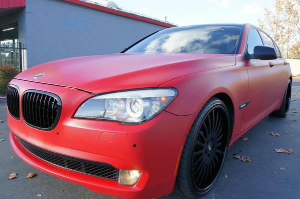 2009 BMW 750LI CUSTOM PAINT FORGIATO LOADED RARE