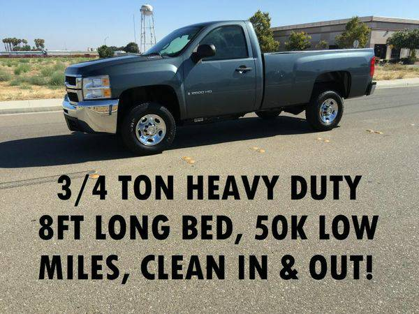 2009 *CHEVROLET* *SILVERADO* *2500* 2500HD HEAVY DUTY - LOW MILEAGE...