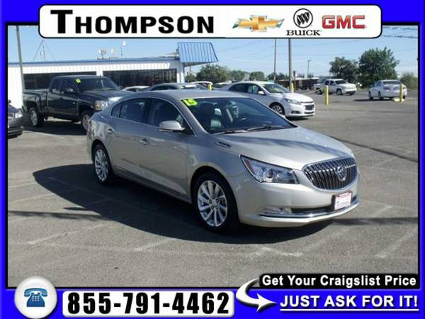 2015 Buick LaCrosse Leather 4D *BAD CREDIT, NO PROBLEM!